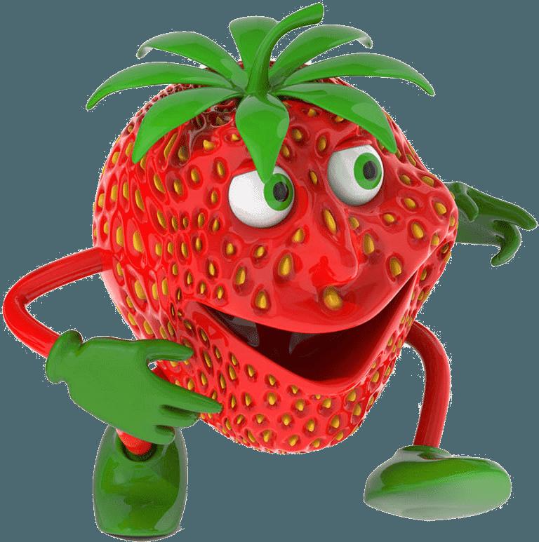 Strawberry Transparent